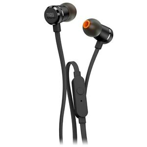 JBL T290 Pure Bass In-Ear Kopfhörer mit Mikrofon - Schwarz