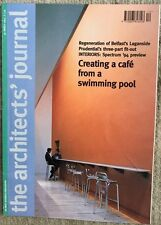 Architects Journal 30Mar 94 Swimming Pool To Cafe, Belfast Laganside, Prudential