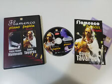 FLAMENCO FUSION BRASIL JAZZ DAVID TAVARES PABLO RUBEN MALDONADO DVD 2005