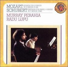 Mozart: Sonata For 2 Pnos K.448 / Schubert: Fantasia, 0827969301524 * NEW *