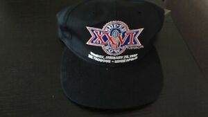 SUPER BOWL XXVI NEW ERA BALL CAP NEW WITH TAGS  SUNDAY JANUARY 26,1992 METRODOME