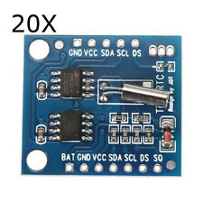 20Pcs I2C RTC DS1307 AT24C32 Real Time Clock Module For AVR ARM PIC SMD