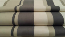 Beautiful Hand Made John Lewis' Finlay' Blue Stripe Roman Blind