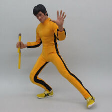 Bruce Lee coverall Fit For 1/6 Scale Action Figure Model Hot In Stock Collection