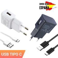 Cargador universal para móvil + cable de carga tipo C repuesto recambio enchufe
