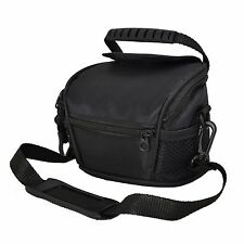 AAS Black Camera Case Bag for Polaroid Is2132 Bridge Camera