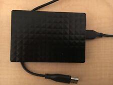 External SEAGATE 1TB USB Hard Drive