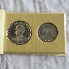 Orden de Malta 1964 plata prueba 2 Scudi y Scudo Conjunto de 2 monedas de 1-Pack