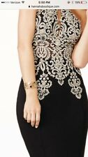 Jovani designer gown gold & navy, perfect for prom or formal evening event.  New