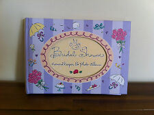 Bridal Shower Record Book/Keeper & Photo Album/Gift Engagement/Wedding