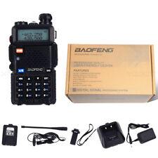1 PCS Baofeng UV-5R Walkie Talkie Dual Band UHF / VHF con auricular 128 canal 5W