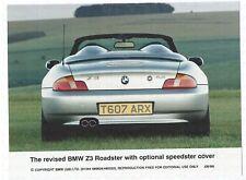 BMW Z3 Roadster opt. Speedster Cover 1999 Foto Photo Photograph Rückansicht
