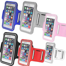"""Gym Running Sports Armband Case Holder Pouch for Mobile iPhone 6 4.7"""" Black"""