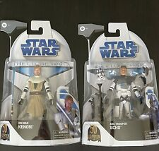Target Star Wars The Clone Wars Obi Wan Kenobi Echo Arch Troope Lot Black Series