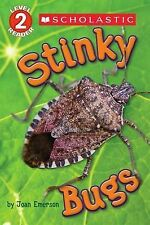 STINKY BUGS by Joan Emerson Level 2 Reader Children's Picture Story Reading Book