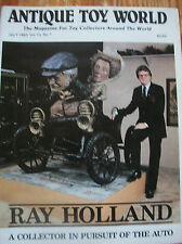 1983 Antique Toy World Magazine Ray Holland Auto Toy Collection
