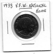 (I) 1933 V.F.W. National Home Token