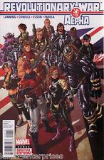 Revolutionary War Alpha #1 Comic Book 2014 Uk - Marvel