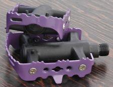 "Purple Iped Platform Bicycle Pedals 9/16""  BMX MTB FiXiE Track Road Bike Cruiser"