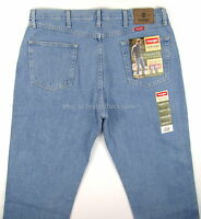 Wrangler Jeans Mens REGULAR FIT - LIGHT STONEWASH Size 38 x 30 New Straight Leg