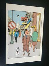 Carte postale Tintin Le sceptre d'Ottokar TBE