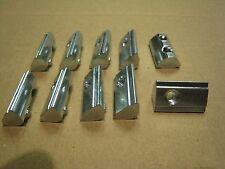 10 Stück Nutensteine Nutsteine Nut 8 mm M5 Gugel mit Feder