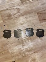 Lot X4 Winchester Colt Remington Smith Wesson Firearms Property Inspector Tags!
