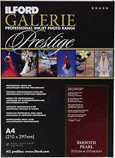 Ilford Galerie Prestige Smooth Pearl - Carta fotografica, formato A4, 25 (m7B)