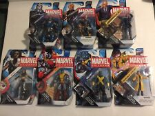 Hasbro Marvel Universe 3.75 X-Men Lot Of 7 MOC Professor X Cable Beast Jubilee