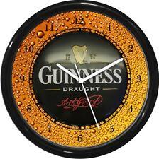 Guinness Beer Wall Clock  Man Cave Den Rec Room