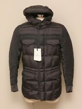 NWT Mens Moncler Grey Goose Down Montclar Hooded Puffy Jacket