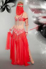 Lady BOLLYWOOD GENIE Costume Harem Girl Belly Dancer Adult Small Medium 4 6 8