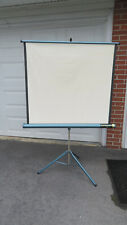 Radiant Deluxe Meteor II  Projector Screen Movie Glass Bead  approx 38 x 36