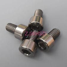 4pcs M6 x 10 mm Titanium Ti Screw Bolt Allen Hex Socket Cap Head Aerospace Grade