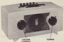 1955 ZENITH R512F RADIO SERVICE MANUAL SCHEMATIC REPAIR PHOTOFACT
