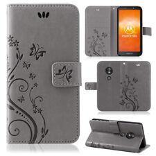 Motorola Moto E5 Jouer Étui Portable Portefeuille Pochette COQUE Neuf