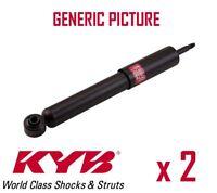 2 x REAR AXLE SHOCK ABSORBERS PAIR STRUTS SHOCKERS KYB OE QUALITY 443047
