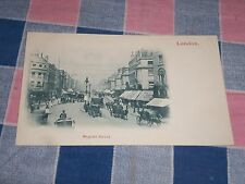 Old Postcard London  Regent Street  Undivided Back  Unused