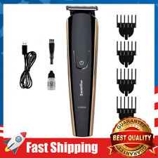 Professional Hair Trimmer Rechargeable 4 in 1 Cordless Grooming Kit w/ 4  Combs