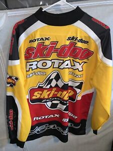 Ski-Doo Racing Shirt Rotax Racing Sz L Sno Gear 🤣💯✅snowmobile 4 wheeler