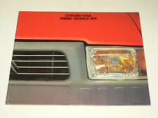 GROS Catalogue CITROEN VISA 1979 prospectus brochure car auto prospekt