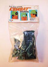 Vintage 1960s Payton US Army Action Combat Toy Soldiers - Palmer Plastics