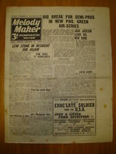 MELODY MAKER 1945 #601 JAZZ SWING MUSIC LEW STONE