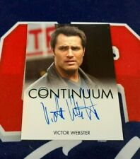 CONTINUUM Seasons 1 and 2 Victor Webster as Carlos Fonnegra Autograph Card!