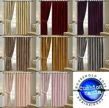Curtains Crushed Velvet Ready made fully Lined Eyelet Ring Top Shiny Heavy