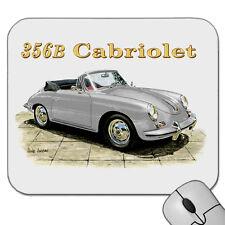 PORSCHE  356B  CABRIOLET  MOUSE PAD   (  6  CAR  COLOURS  )