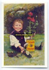 ad1692 - Colman's Mustard - modern advert postcard