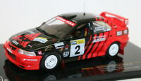IXO 1/43 Scale Model Car RAM514 Mitsubishi Lancer Evo VI Win Canberra 1999
