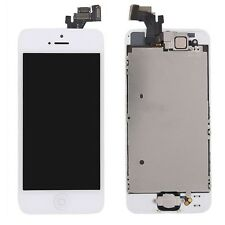 all-in-one Pantalla LCD Unidad Completa Panel Táctil para Apple iPhone 5 Blanco