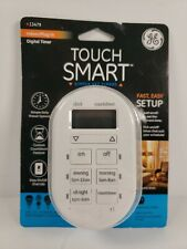 GE 13479 Touch Smart Indoor Plug-in Digital Timer New